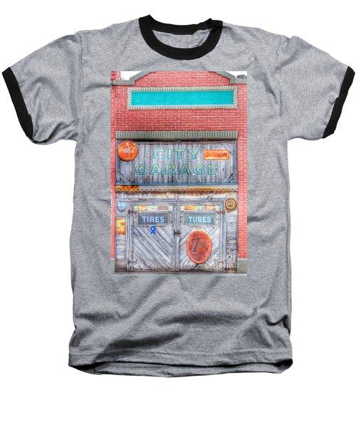 City Garage Baseball T-Shirt by Toma Caul