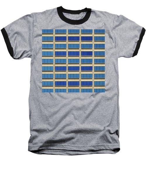 City Grid Baseball T-Shirt