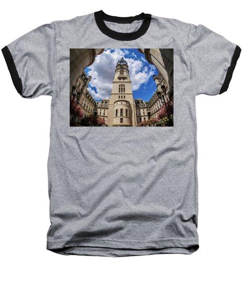 City-hall-philadelphia-photo Baseball T-Shirt
