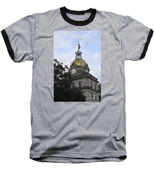 City Hall Savannah Baseball T-Shirt