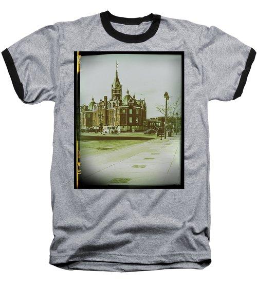 City Hall, Stratford Baseball T-Shirt
