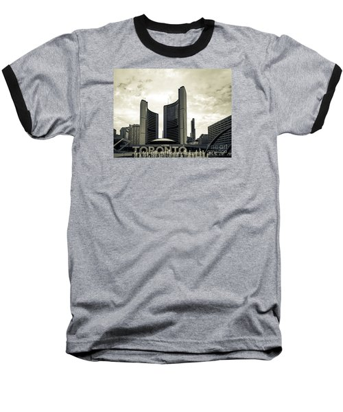 City Hall Baseball T-Shirt