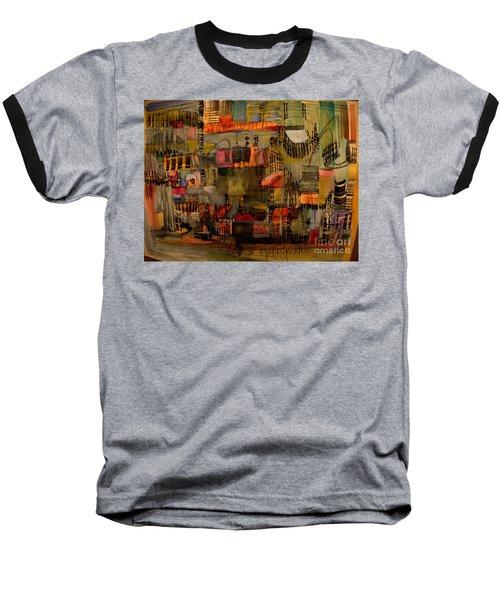 Evening Out Baseball T-Shirt by Nancy Kane Chapman
