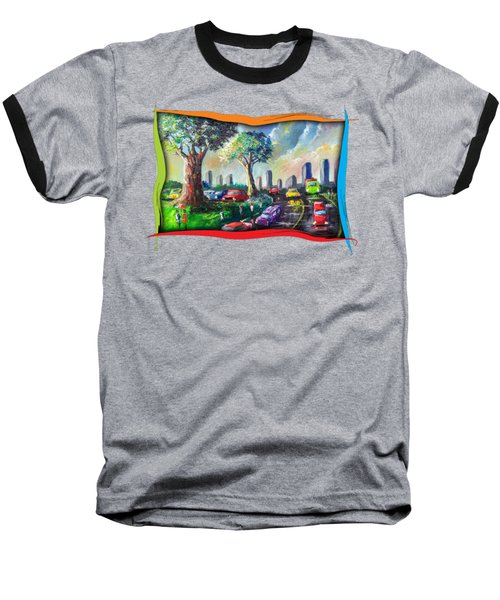 City Life Baseball T-Shirt