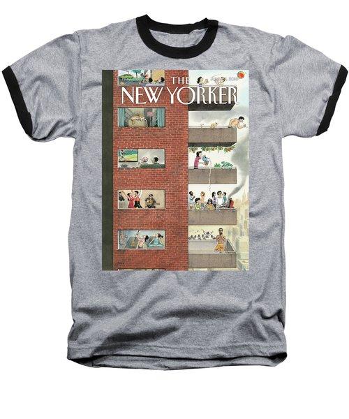 City Living Baseball T-Shirt