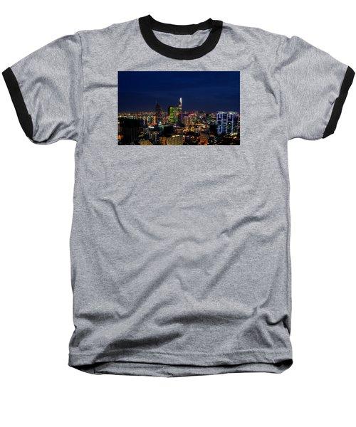 City Night Baseball T-Shirt
