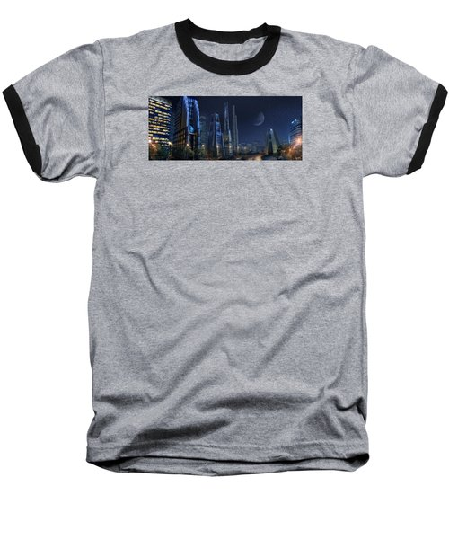 City Night Baseball T-Shirt
