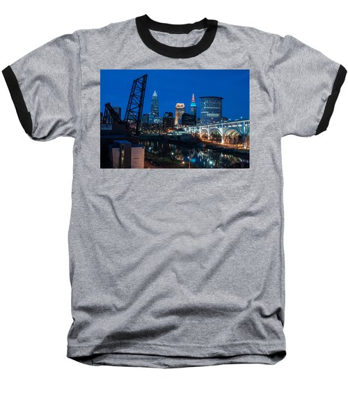 City Of Bridges Baseball T-Shirt