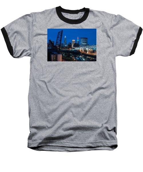 City Of Bridges Baseball T-Shirt