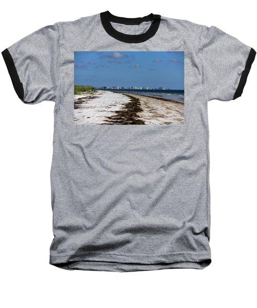 City Of Clearwater Skyline Baseball T-Shirt