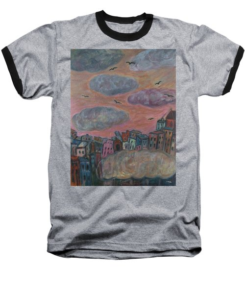 City Of Clouds Baseball T-Shirt