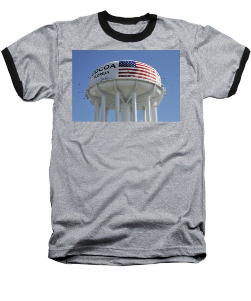 City Of Cocoa Water Tower Baseball T-Shirt
