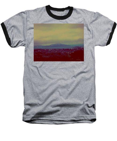 City Of Dream Baseball T-Shirt by Dr Loifer Vladimir