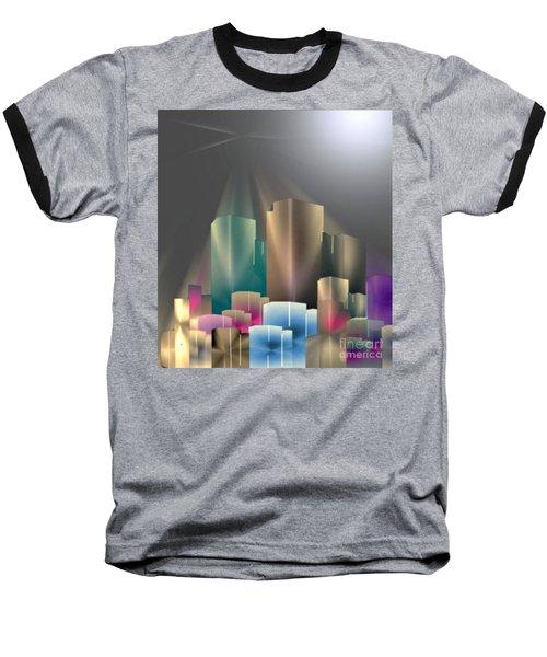 City Of Light 5-2 2016 Baseball T-Shirt by John Krakora