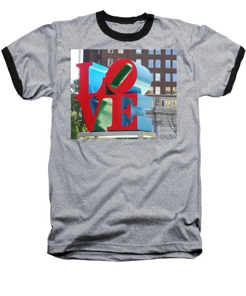 City Of Love Baseball T-Shirt