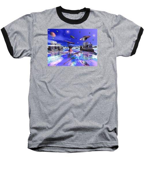City Of New Horizions Baseball T-Shirt