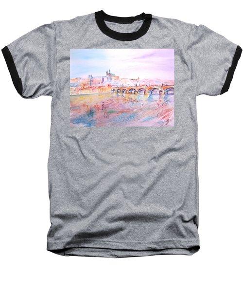 City Of Prague Baseball T-Shirt