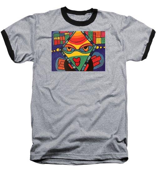 City Queen Baseball T-Shirt