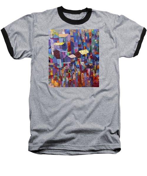 City Scape 1 Baseball T-Shirt by Ronex Ahimbisibwe