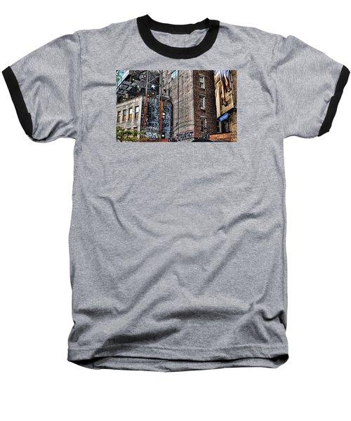 City Scenes Nyc Baseball T-Shirt by Steve Archbold