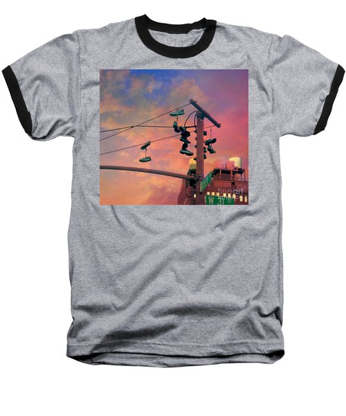 City Shoe Flinging Baseball T-Shirt