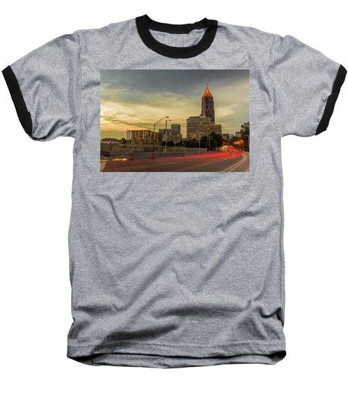 City Sunset Baseball T-Shirt