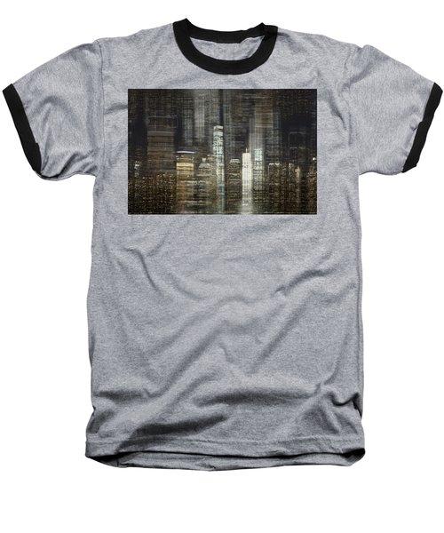 City Tetris Baseball T-Shirt