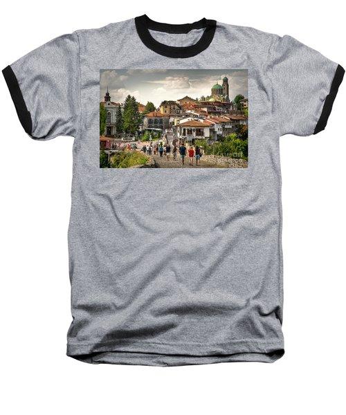 City - Veliko Tarnovo Bulgaria Europe Baseball T-Shirt