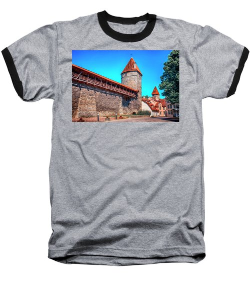City Wall Baseball T-Shirt