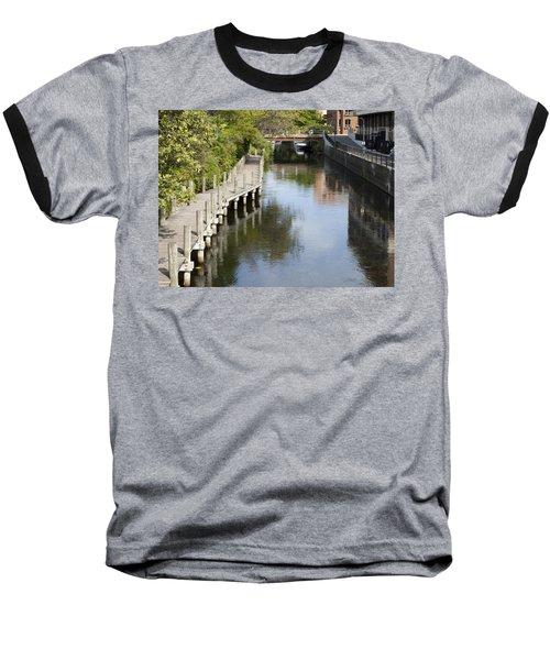 City Waterway Baseball T-Shirt by Tara Lynn