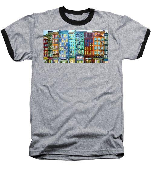 City Windows Baseball T-Shirt