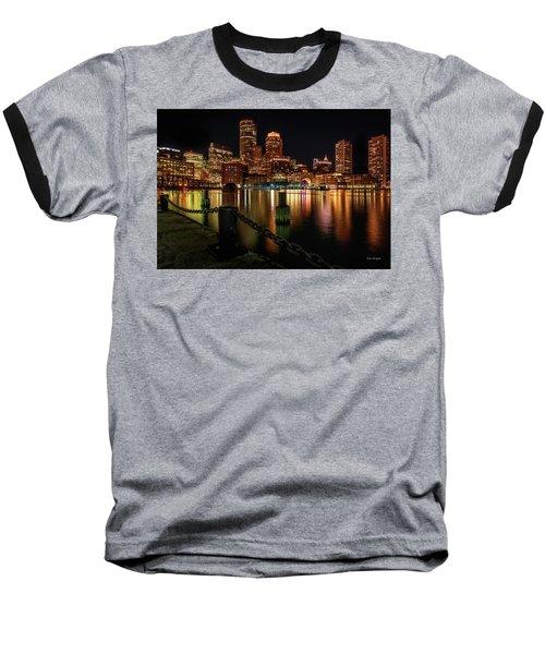 City With A Soul- Boston Harbor Baseball T-Shirt