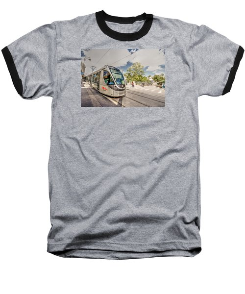 Baseball T-Shirt featuring the photograph Citypass by Uri Baruch