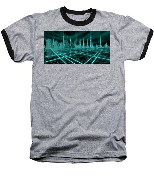 Cityscape 2010 Alpha Baseball T-Shirt