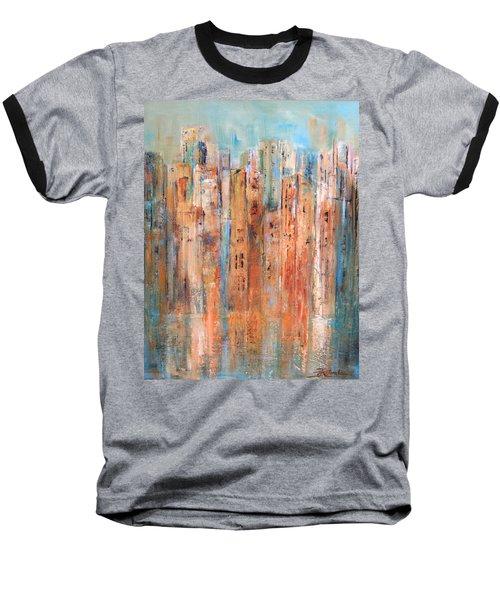 Cityscape #3 Baseball T-Shirt