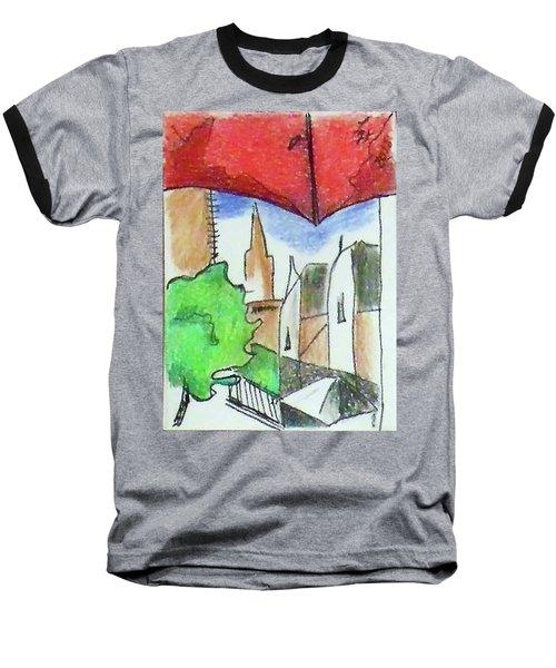 Cityscape 963 Baseball T-Shirt