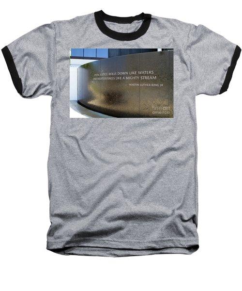 Civil Rights Memorial Baseball T-Shirt