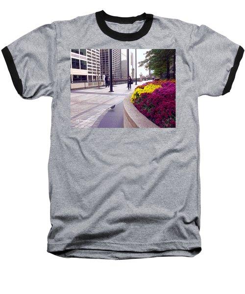 Civilization And Birds Baseball T-Shirt