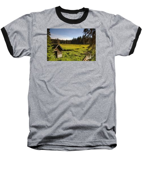 Clackamas Meadow Pump House- 2 Baseball T-Shirt