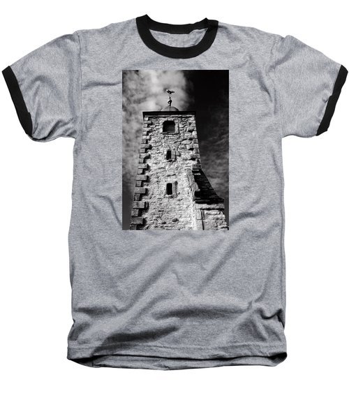 Clackmannan Tollbooth Tower Baseball T-Shirt by Jeremy Lavender Photography