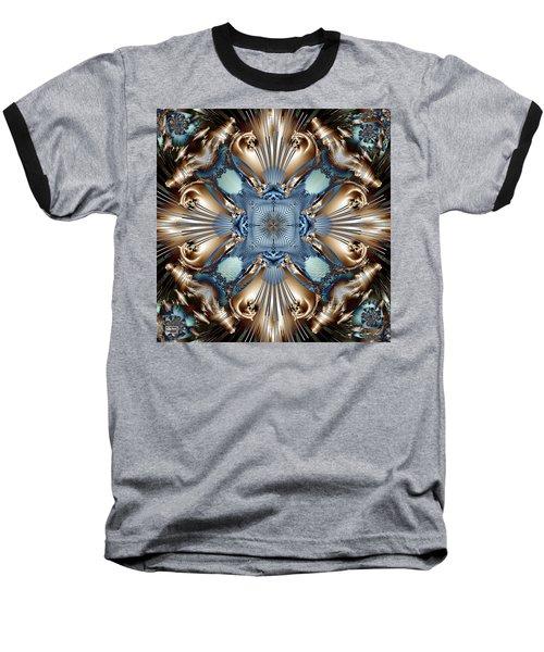 Clair De Lune Baseball T-Shirt by Jim Pavelle