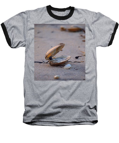 Clam I Baseball T-Shirt