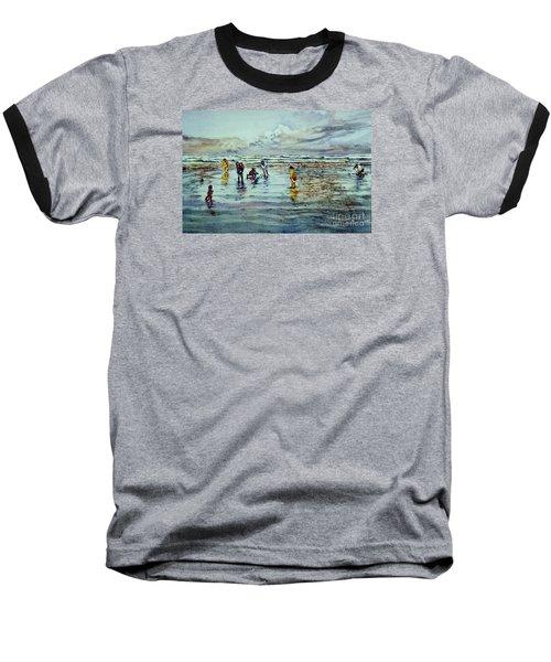 Clamdigging Family Baseball T-Shirt