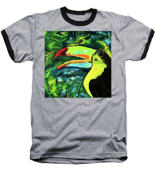 Clara's Toucan Baseball T-Shirt