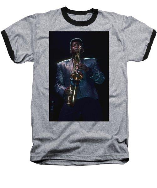 Clarence Clemons Baseball T-Shirt
