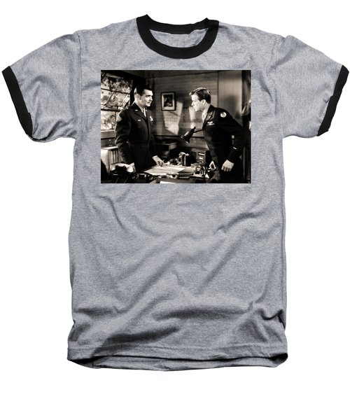 Clark Gable Appearing In Command Decision Baseball T-Shirt