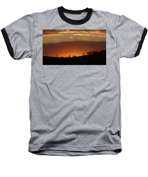 Clarkes Road II Baseball T-Shirt by Evelyn Tambour