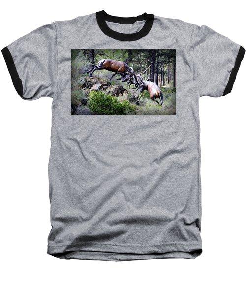 Clash Of The Titans Baseball T-Shirt