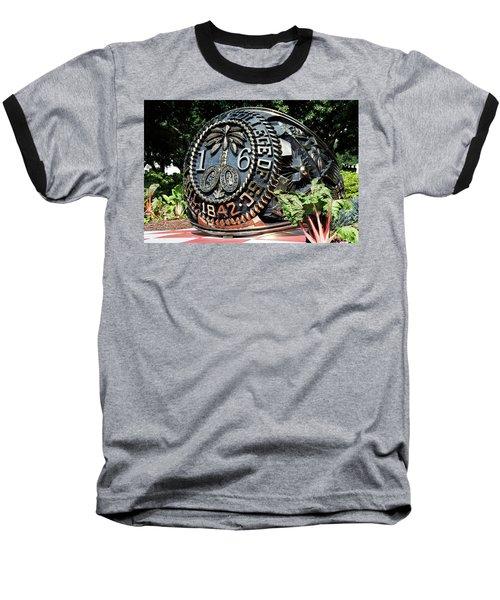 Class Ring Baseball T-Shirt by Ed Waldrop
