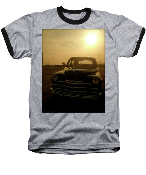 Baseball T-Shirt featuring the photograph Classic America, Eight by Iconic Images Art Gallery David Pucciarelli